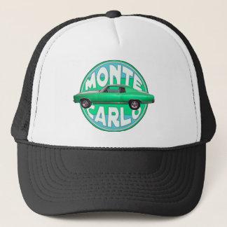 1970 monte carlo seafoam jade trucker hat