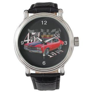 1970 mucle car wristwatch