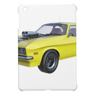 1970 Muscle Car Yellow with Black Stripe Case For The iPad Mini
