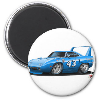 1970 Nascar Superbird Petty 2 Inch Round Magnet
