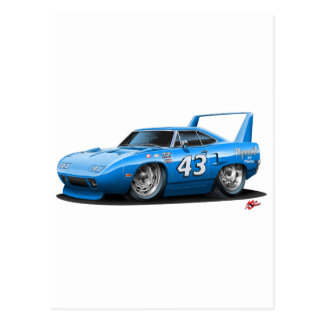 1970 Nascar Superbird Petty Post Card