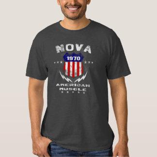 1970 Nova American Muscle v3 T-Shirt