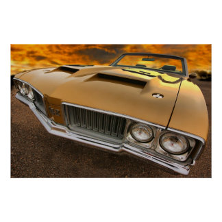 1970 Olds 4-4-2 W-30 Poster