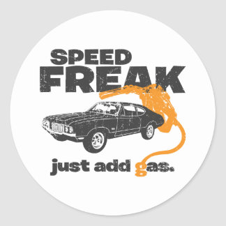1970 Oldsmobile 442 Classic Round Sticker
