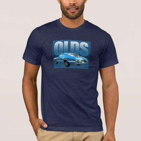 6d24c036 Oldsmobile Cutlass Men's T-Shirts, Custom Olds Cutlass 442 Shirts ...