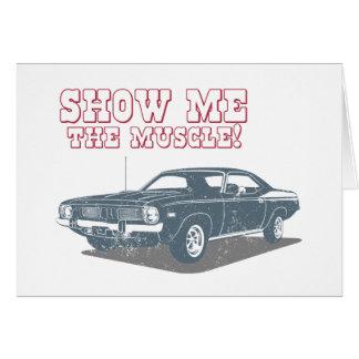 1970 Plymouth Barracuda Greeting Card