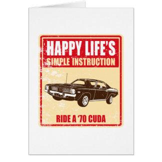1970 Plymouth Barracuda Card