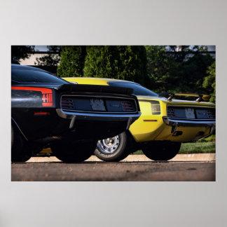 1970 Plymouth 'Cuda 440 & HEMI Poster