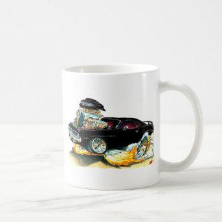 1970 Plymouth Cuda Black Car Coffee Mugs