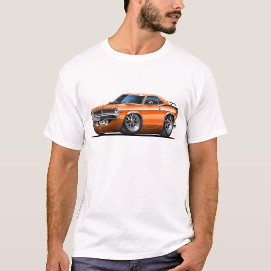 1970 Plymouth Cuda Orange Car T-Shirt