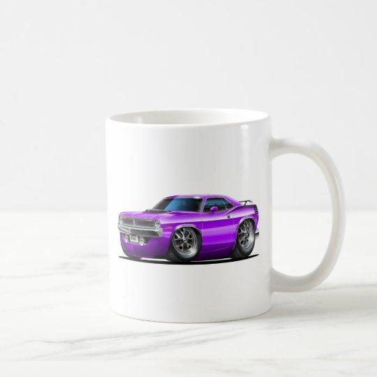 1970 Plymouth Cuda Purple Car Coffee Mug