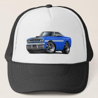 1970 Plymouth GTX Blue-White Top Car Trucker Hat
