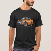 1970 Plymouth GTX Orange-White Top Car
