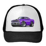 1970 Plymouth GTX Purple-White Car Hats