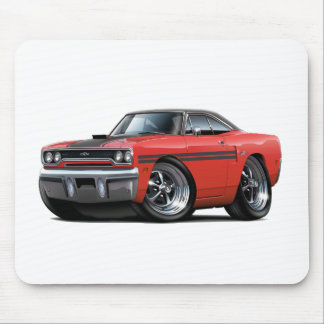 1970 Plymouth GTX Red-Black Top Car Mouse Pad