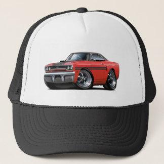 1970 Plymouth GTX Red-Black Top Car Trucker Hat