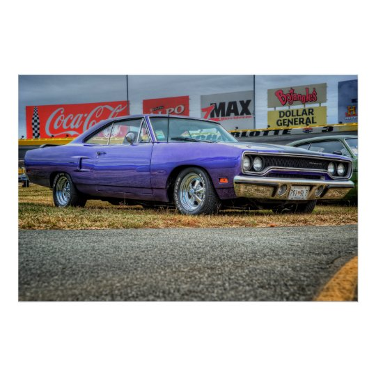 1970 Plymouth Roadrunner Poster