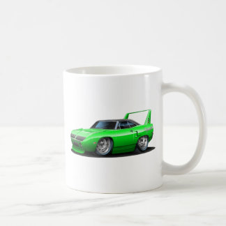 1970 Plymouth Superbird Green Car Coffee Mug
