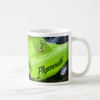 1970 Plymouth Superbird Green Coffee Mug