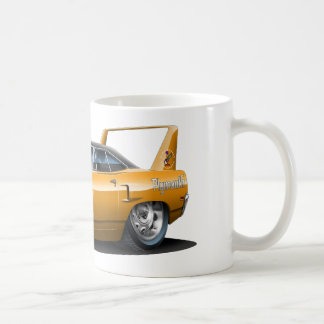 1970 Plymouth Superbird Orange Car Classic White Coffee Mug