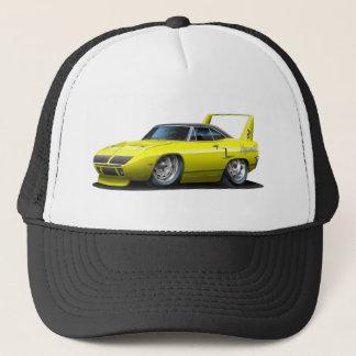 1970 Plymouth Superbird Yellow Car Trucker Hat