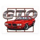 1970 Pontiac GTO Postcard