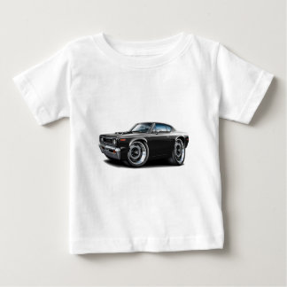 1970 Rebel Machine Black-Hood Scoop T-shirt