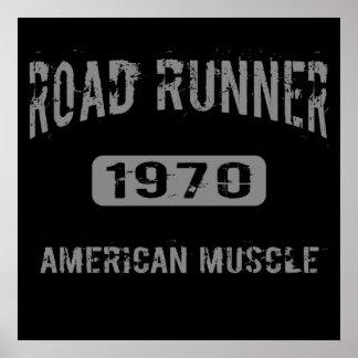 1970 Road Runner American Muscle Poster