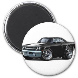 1970 Roadrunner Black-White Magnet