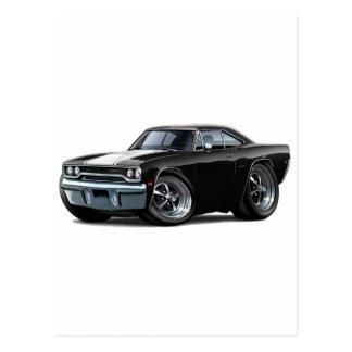 1970 Roadrunner Black-White Postcard
