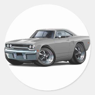 1970 Roadrunner Grey Car Sticker