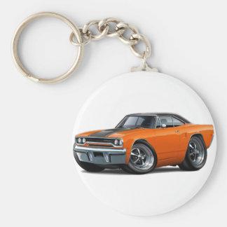 1970 Roadrunner Orange-Black Top Keychain