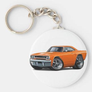 1970 Roadrunner Orange Car Keychain