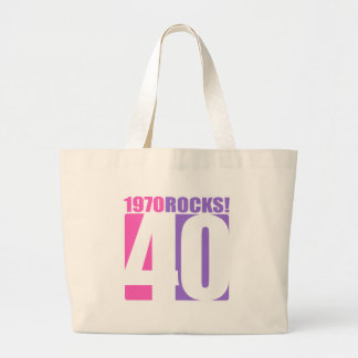 1970 Rocks! Tote Bags