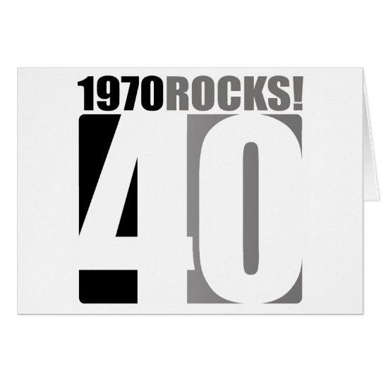 1970 Rocks! Card