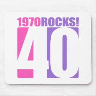 1970 Rocks! Mouse Pad