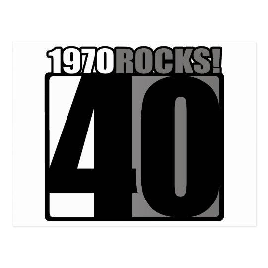 1970 Rocks! Postcard