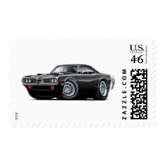 1970 Super Bee Black-White Scoop Hood Stamp