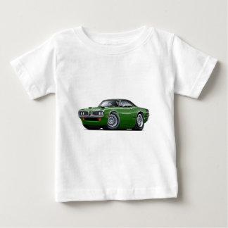 1970 Super Bee Green-Black Top C-Stripe Scoop Hood T Shirt