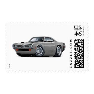 1970 Super Bee Grey-Black Scoop Hood Stamp