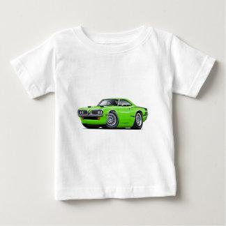 1970 Super Bee Lime-Black C-Stripe Scoop Hood T-shirt
