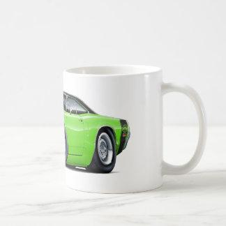 1970 Super Bee Lime-Black Top Car Coffee Mug