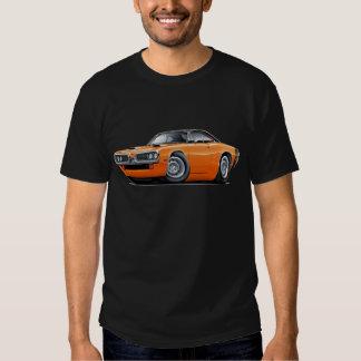 1970 Super Bee Orange-Black Top Scoop Hood T-shirt