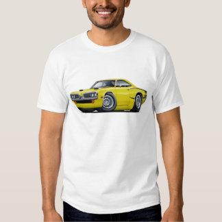 1970 Super Bee Yellow-Black C-Stripe Scoop Hood T Shirt