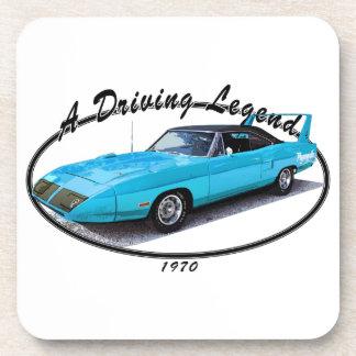 1970 Superbird Blue Coaster