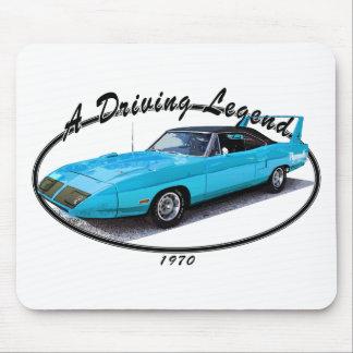 1970 Superbird Blue Mouse Pad