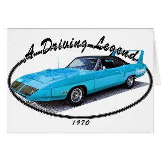 1970_superbird_blue.png greeting cards