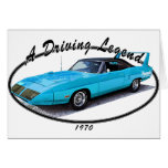 1970_superbird_blue.png greeting cards