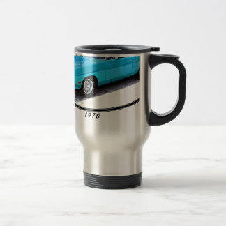 1970 Superbird Blue Travel Mug