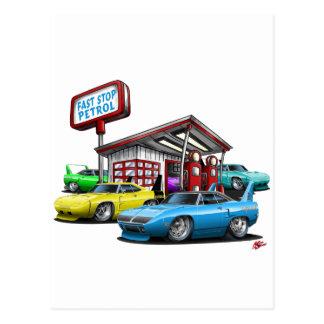 1970 Superbird Gas Station Post Cards